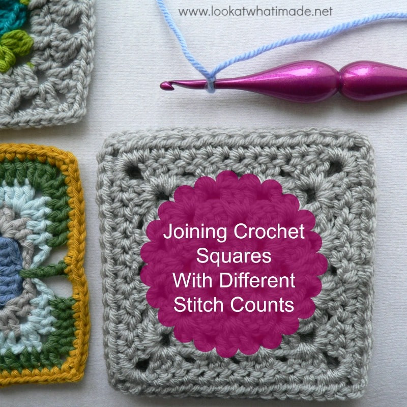 Inspirational Joining Afghan Squares with Different Stitch Counts Crochet Squares together Of Lovely 43 Ideas Crochet Squares together