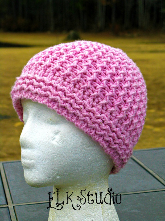 Inspirational Just Groovin Crochet Beanie by Elk Studio Double Crochet Hat Of Great 43 Models Double Crochet Hat