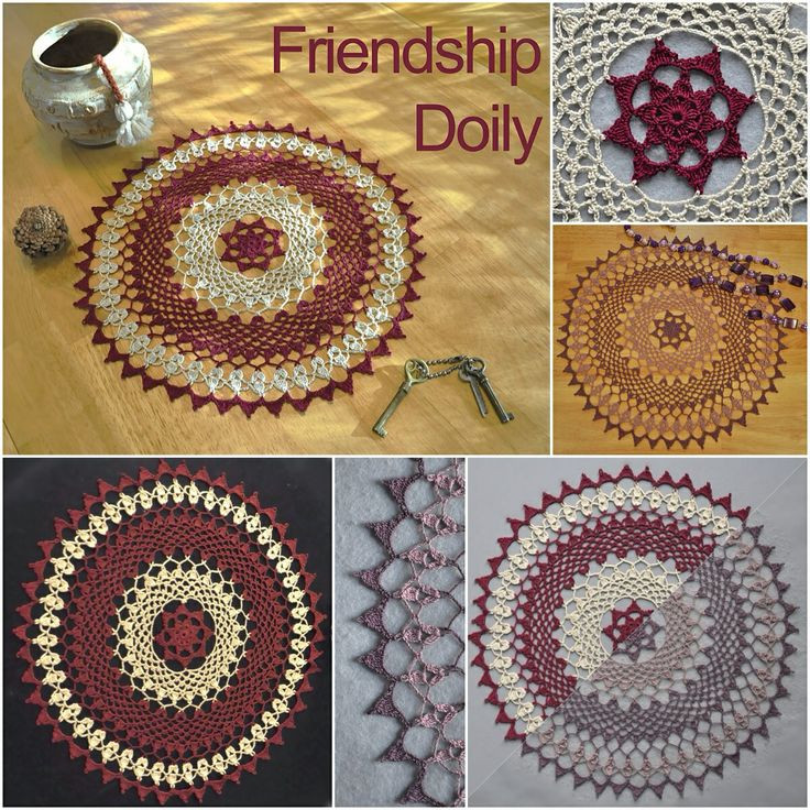 Inspirational Kathryn White S Friendship Doily In Two Color Motifs Of Crochet Thread Size 10 Free Patterns Of Delightful 50 Models Crochet Thread Size 10 Free Patterns