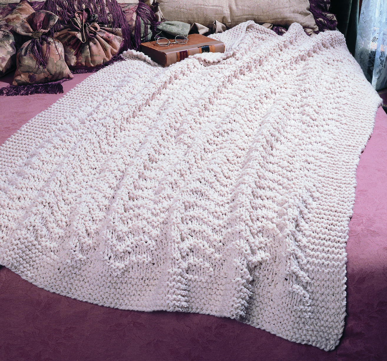 Inspirational Knit A Blissful Afghan Pattern Free and Easy Pattern Easy Knit Afghan Patterns Of Great 40 Pictures Easy Knit Afghan Patterns