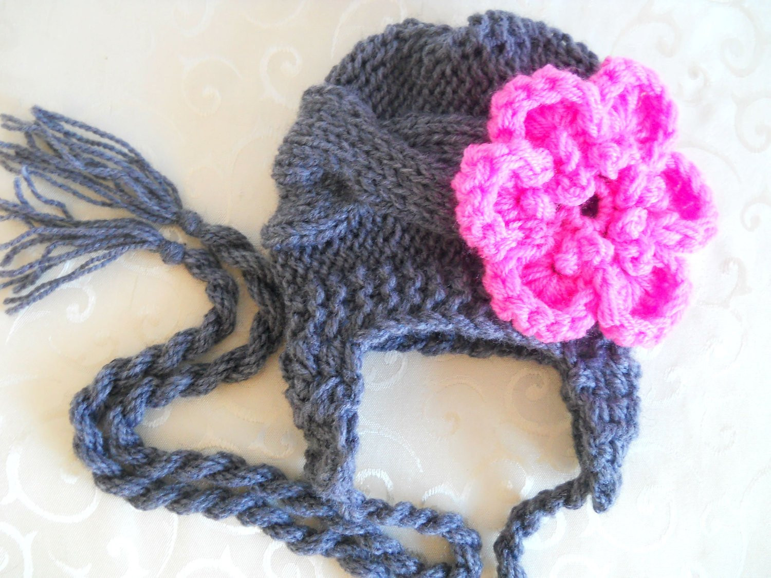 Inspirational Knit Baby Hat with Flower Baby Girl Knit Hat Baby Ear Flap Infant Knit Hat Of Beautiful 48 Photos Infant Knit Hat