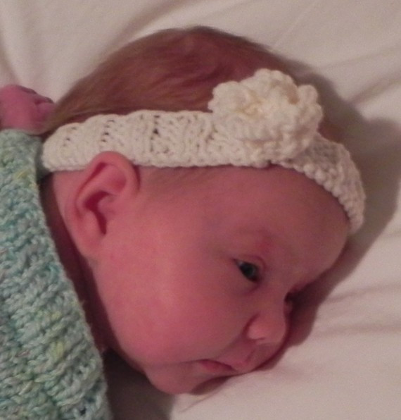 Knit Baby Headband Patterns