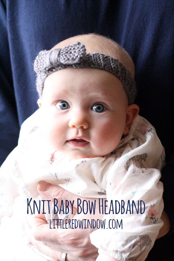 Inspirational Knit Bow Baby Headband Little Red Window Baby Headband Knitting Pattern Of New 47 Ideas Baby Headband Knitting Pattern