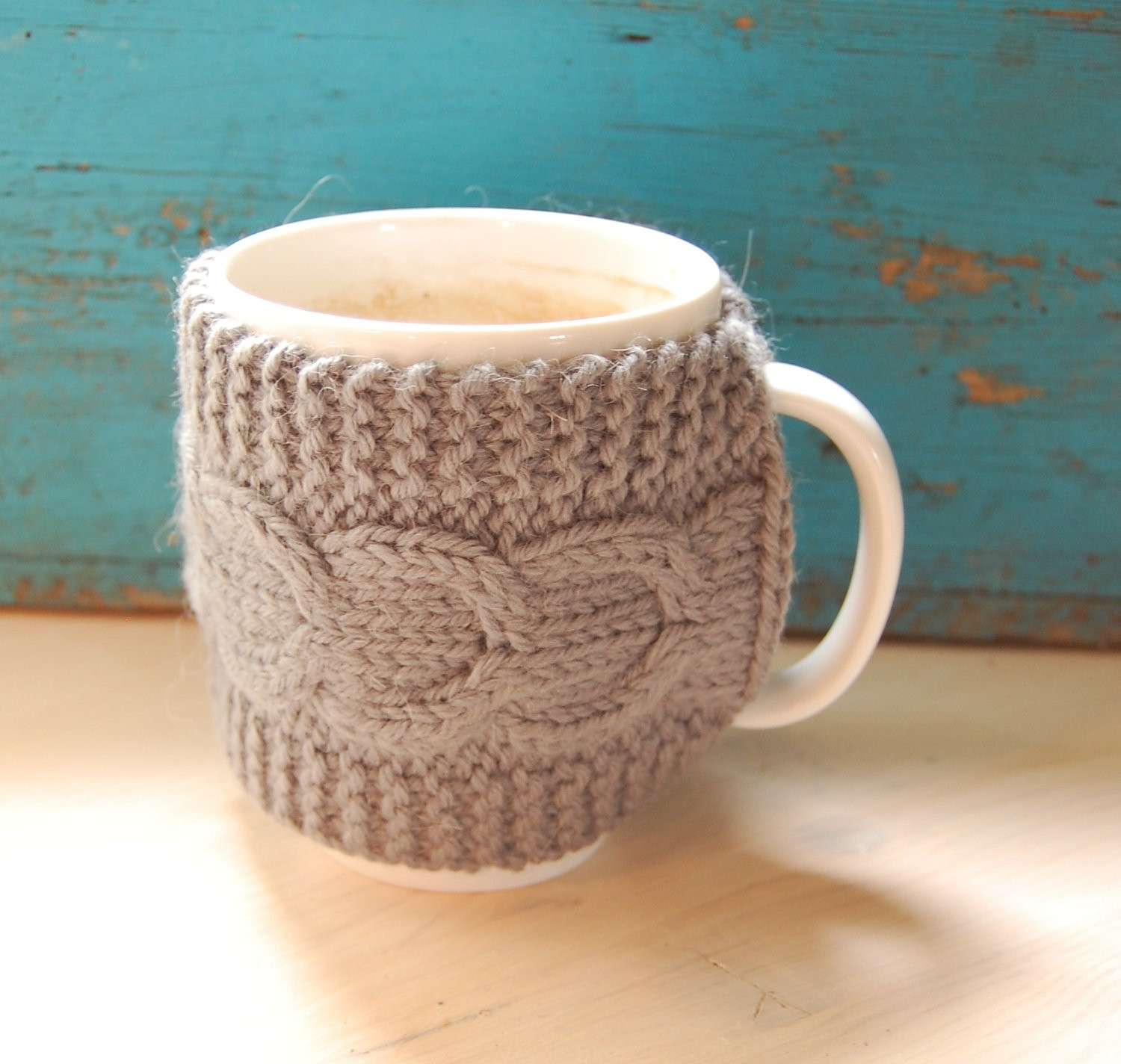 Inspirational Knit Coffee Mug Cozy Mug Warmer with Cable Pattern by Coffee Cup Cozy Of Awesome 47 Images Coffee Cup Cozy