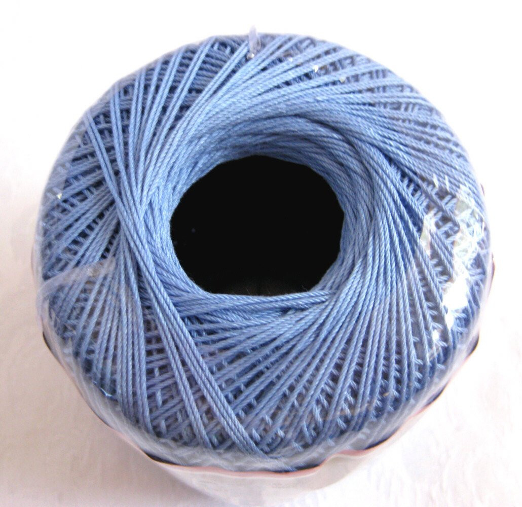 Inspirational Knit Cro Sheen Cotton Thread Periwinkle Blue Size 10 by Knit Cro Sheen Of Amazing 43 Images Knit Cro Sheen