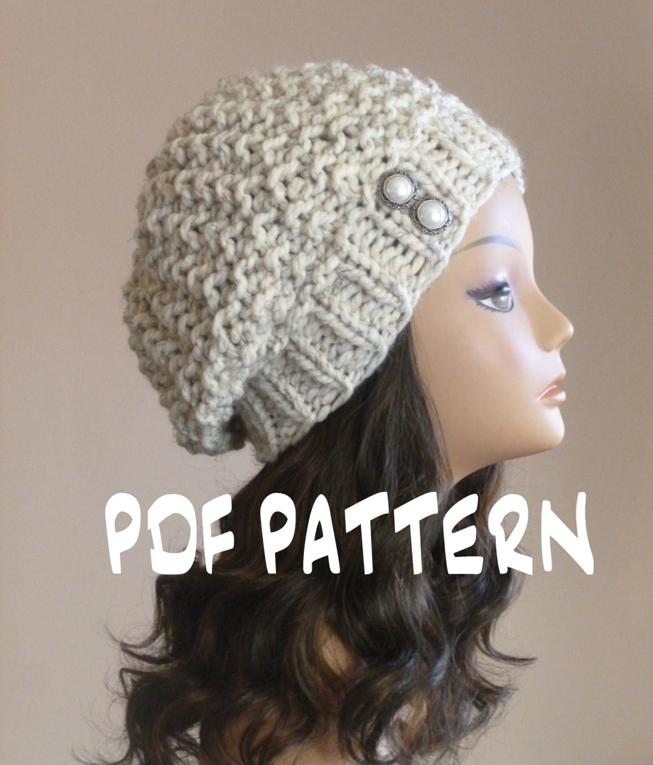 Inspirational Knit Hat Pattern Knitting Pattern Slouchy Beret Knitted Knit Beret Of Beautiful 41 Models Knit Beret