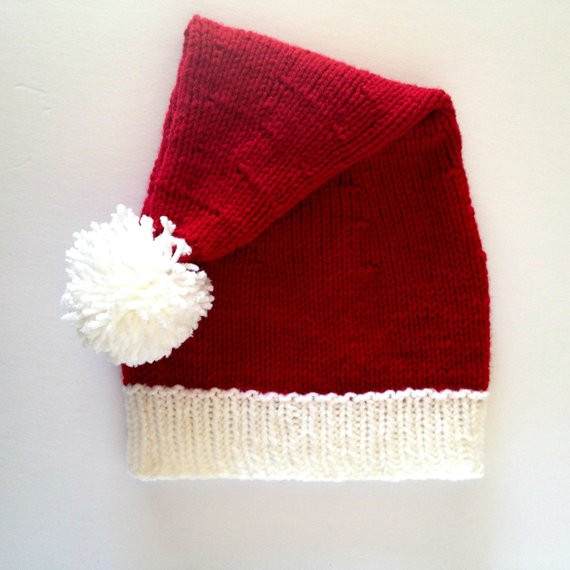 Inspirational Knit Santa Hat Santa Claus Hat Santa Clause Hat Christmas Knitted Christmas Hats Of Adorable 50 Models Knitted Christmas Hats