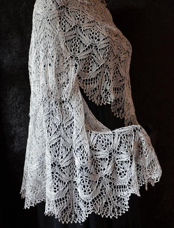 Inspirational Knit Shawl Pattern Wedding Belle From Knitted Wedding Shawl Of Awesome Wedding and Bridal Knitting Patterns Knitted Wedding Shawl