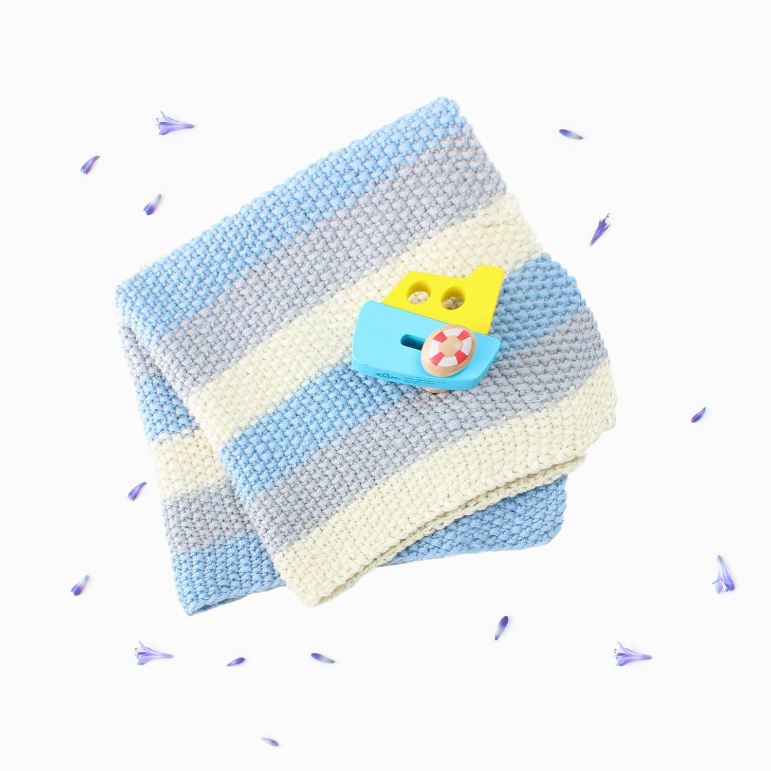 Inspirational Knit Your Own Baby Stripe Blanket Knitting Kit Learn to Knit Blanket Knitting Kit Of Lovely 47 Models Blanket Knitting Kit