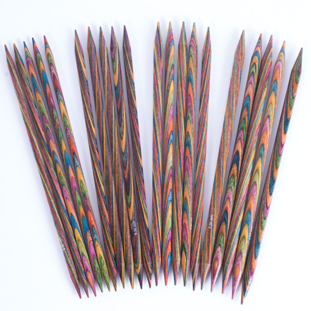 KnitPro Symfonie Double Point Needles 20cm Set of 5