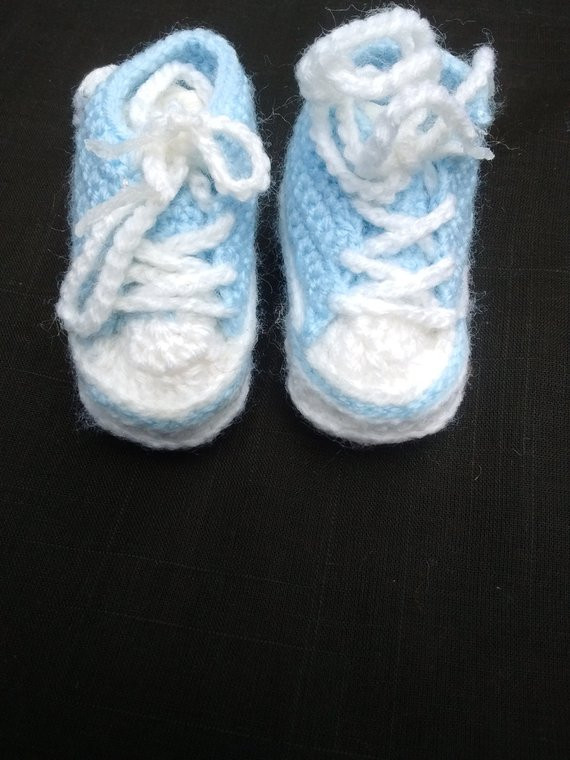 Inspirational Knitted Crochet Booties Newborn Baby Boy Converse Trainer Crochet Converse Baby Booties Of Wonderful 41 Models Crochet Converse Baby Booties