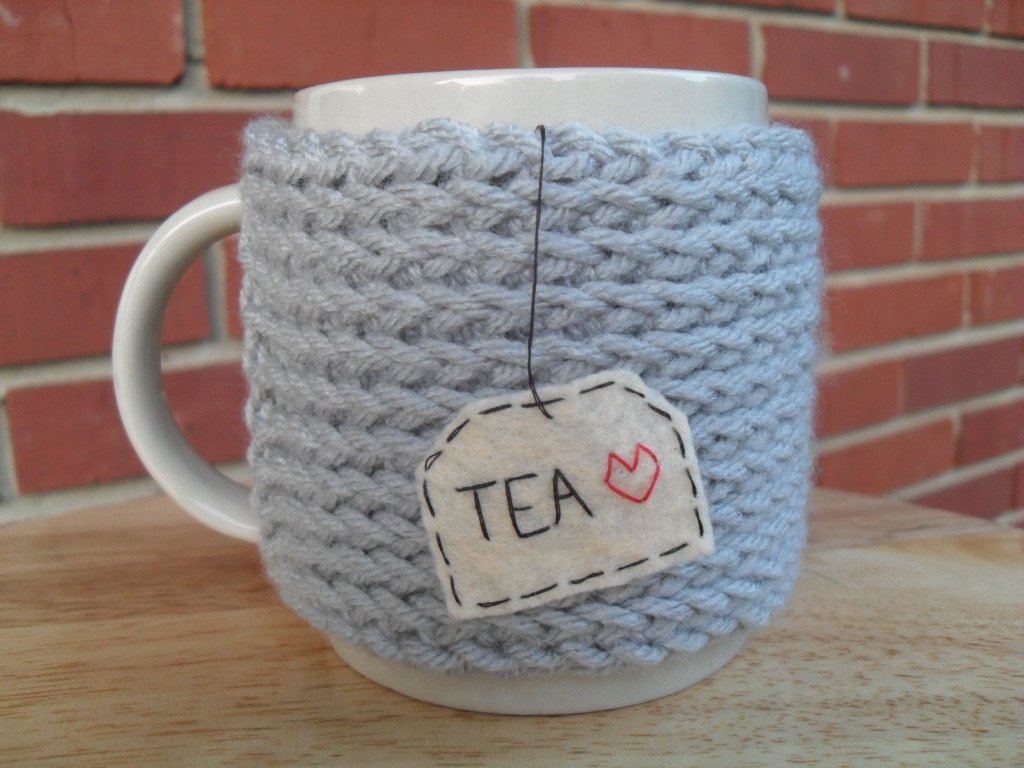Inspirational Knitted Tea Mug Cozy Cup Cozy In Light Grey Gray Knitted Mug Cozy Of Unique 48 Photos Knitted Mug Cozy