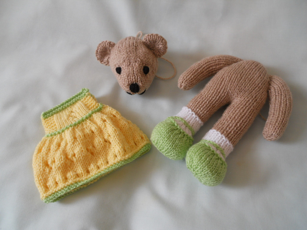 Inspirational Knitted Teddy Bears Knitted Bear Pattern Of Brilliant 42 Photos Knitted Bear Pattern