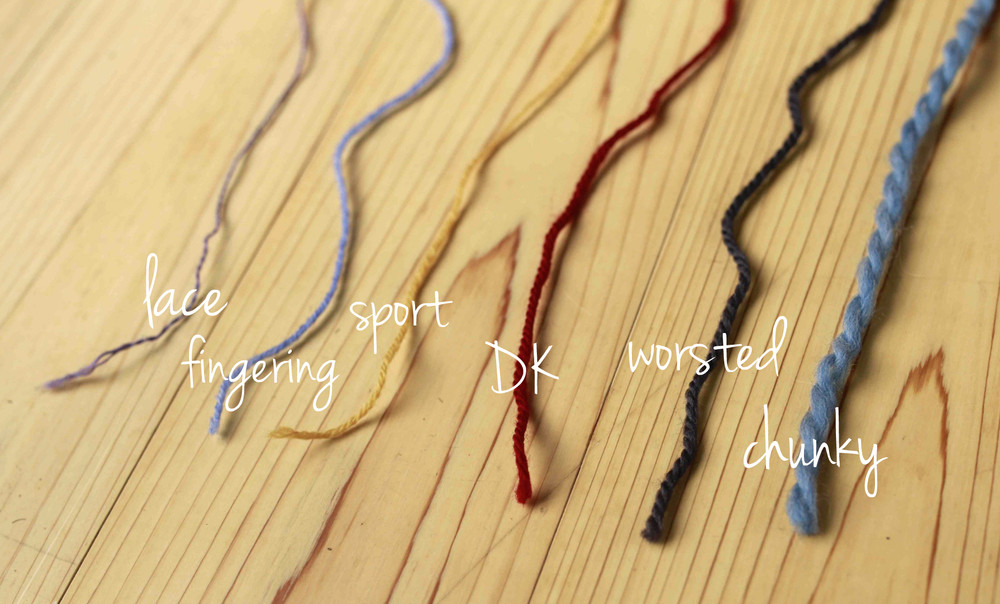 Inspirational Knitting 101 Yarn Types and Weights — Aroha Knits Yarn Thickness Of Innovative 50 Pictures Yarn Thickness