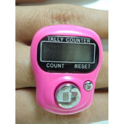 KNITTING CROCHET FINGER ROW COUNTER TALLY DIGITAL 12
