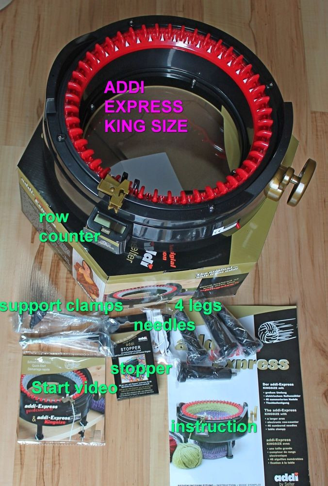 Inspirational Knitting Machine Addi Express King Size 46 Needles Addi Express Knitting Machine Of Innovative 45 Photos Addi Express Knitting Machine