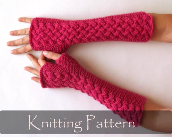 Inspirational Knitting Pattern Cable Fingerless Gloves Knit Pattern Arm Gloves Knitting Pattern Of Contemporary 45 Images Gloves Knitting Pattern