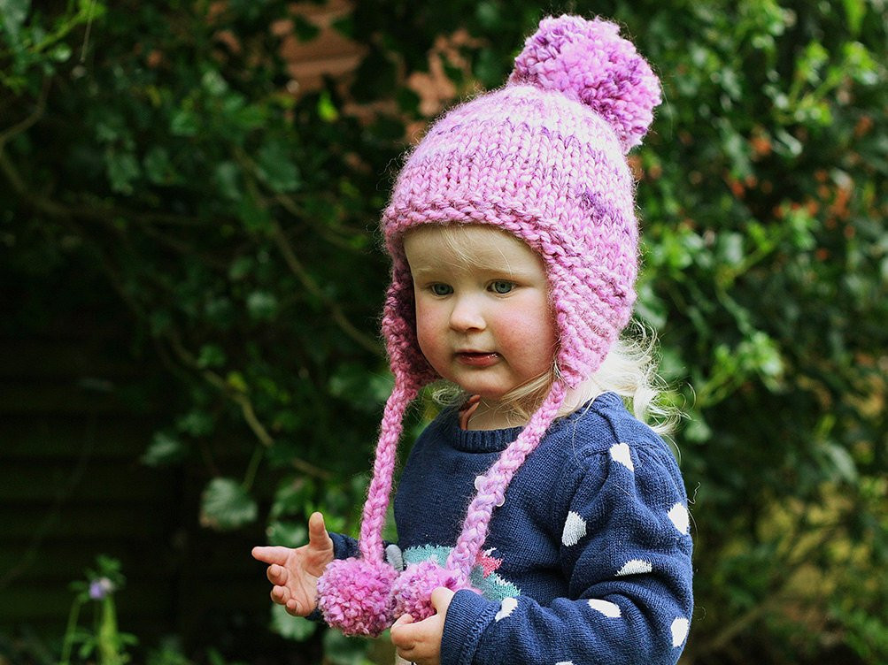 Inspirational Knitting Pattern Earflap Hat Pattern Pom Pom Hat Baby Knitted Baby Bonnet Of Top 47 Pics Knitted Baby Bonnet