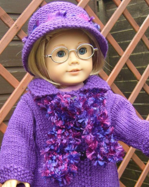 Knitting Patterns for American Girl Dolls