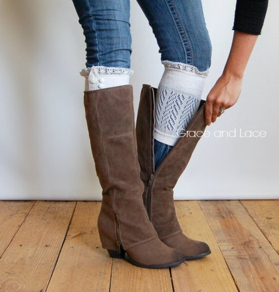Inspirational Lace Trim socks Leg Warmers Boot Cuffs toppers Lace Boot Cuffs Of Awesome 50 Pictures Lace Boot Cuffs