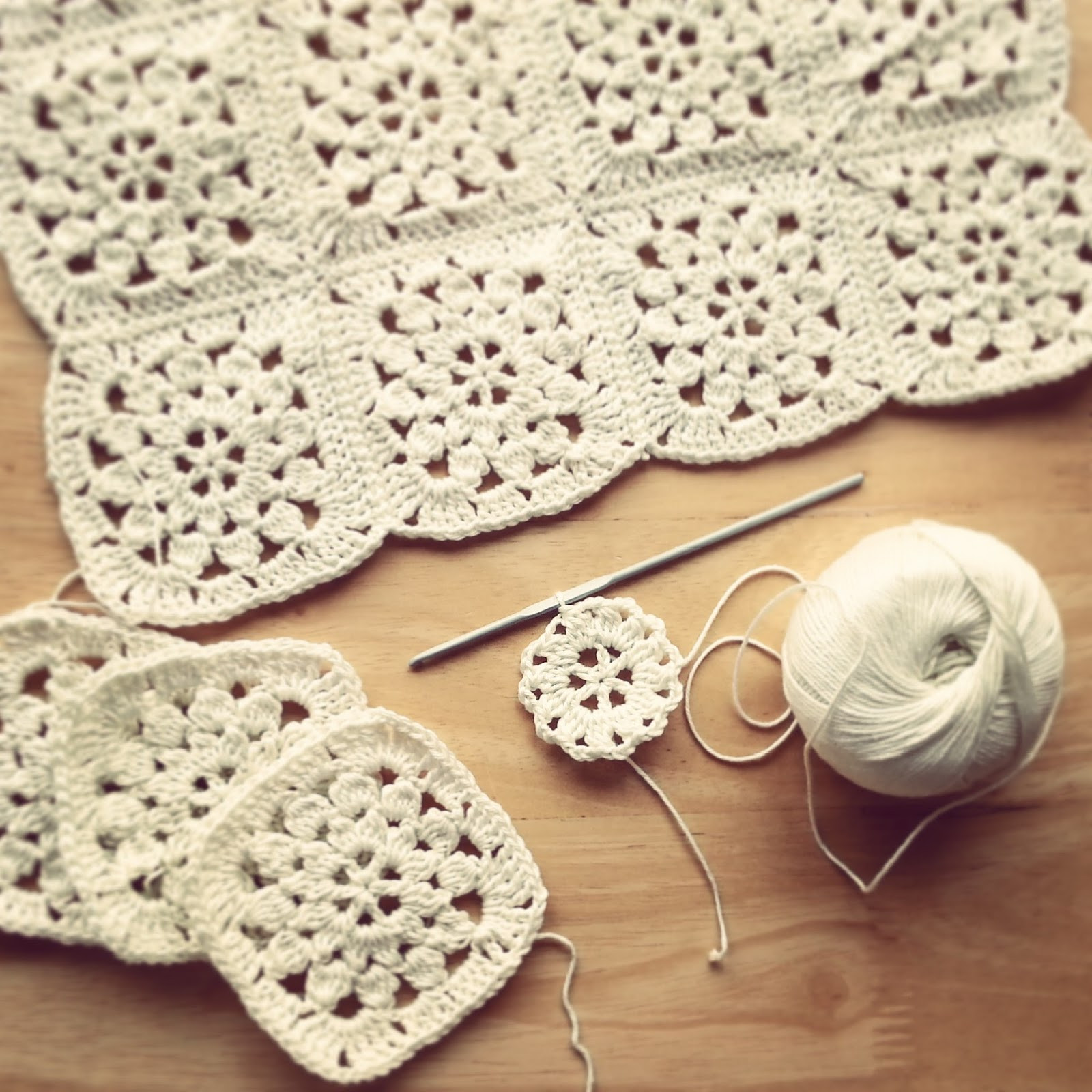 Inspirational Lavender and Wild Rose Monochrome and Colour Crochet Crochet Flower Square Of Brilliant 47 Models Crochet Flower Square