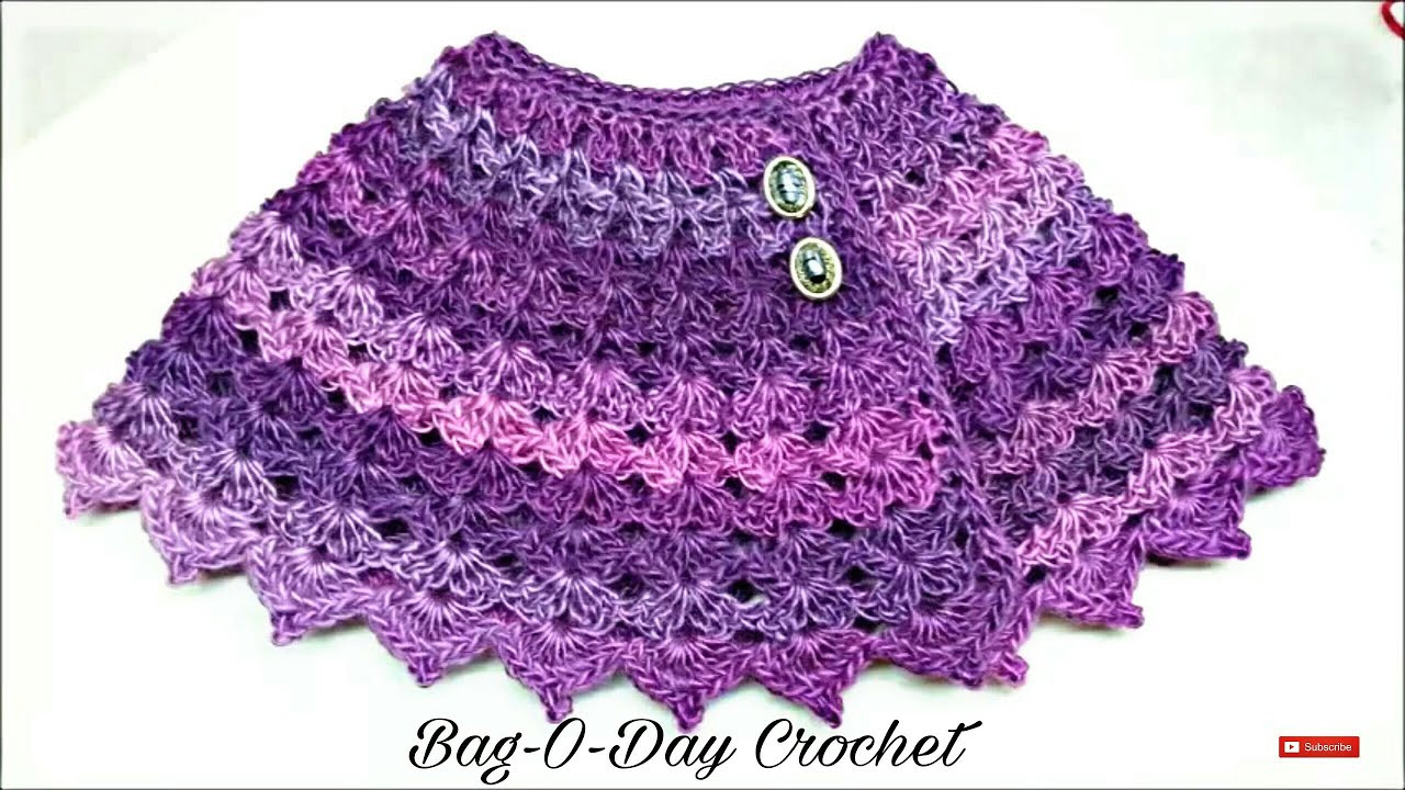 Inspirational Learn How to Crochet the Purple Petunia Baby Shawl Siz Crochet Shawl Tutorial Of Attractive 40 Ideas Crochet Shawl Tutorial