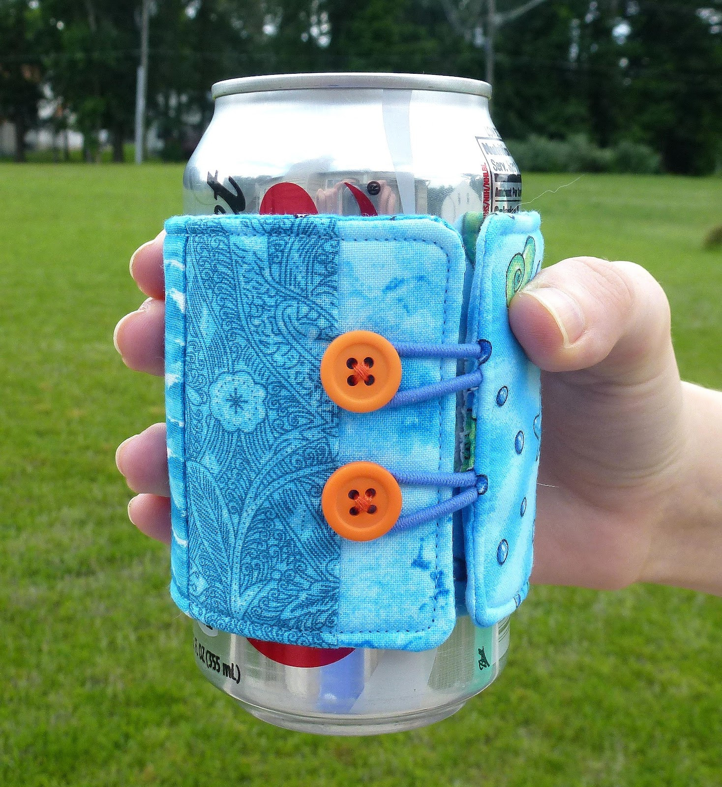 Inspirational Leslie S Art and Sew Summer Sewing soda Can Cozy Tutorial Can Cozy Of Wonderful 48 Pictures Can Cozy