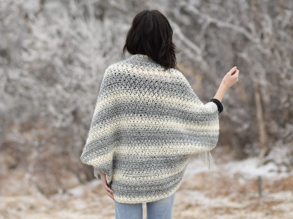 Inspirational Light Frost Easy Blanket Sweater Crochet Pattern – Mama In Lion Brand Scarfie Patterns Of New 42 Pictures Lion Brand Scarfie Patterns