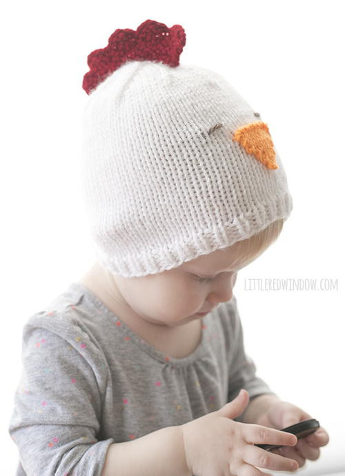 Inspirational Little Chicken Knit Hat Baby Chicken Hat Of Lovely Chicken Hat Crochet Pattern Baby Chicken Hat