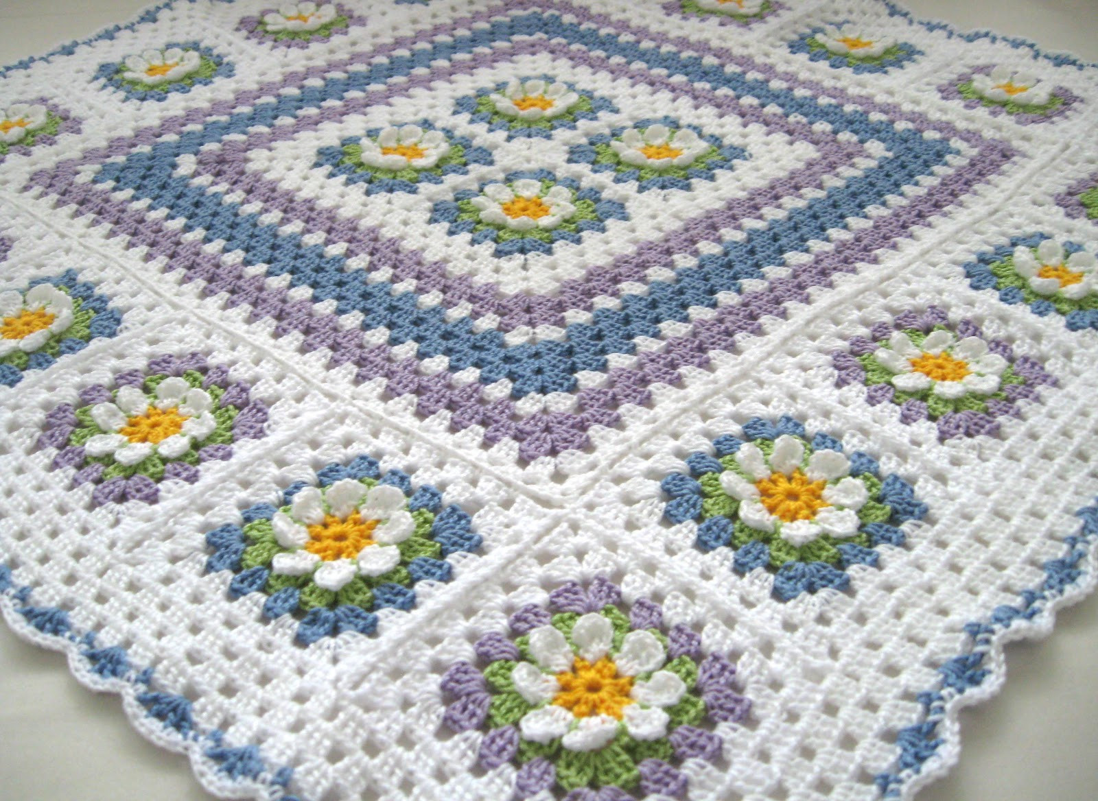 Inspirational Love Crochet June 2012 Crochet Granny Square Afghan Of Beautiful 46 Pictures Crochet Granny Square Afghan