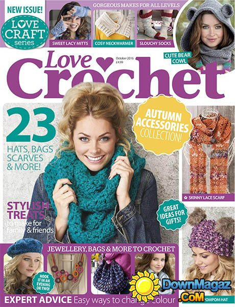 Inspirational Love Crochet October 2016 Download Pdf Magazines Love Crochet Magazine Of Wonderful 48 Pictures Love Crochet Magazine