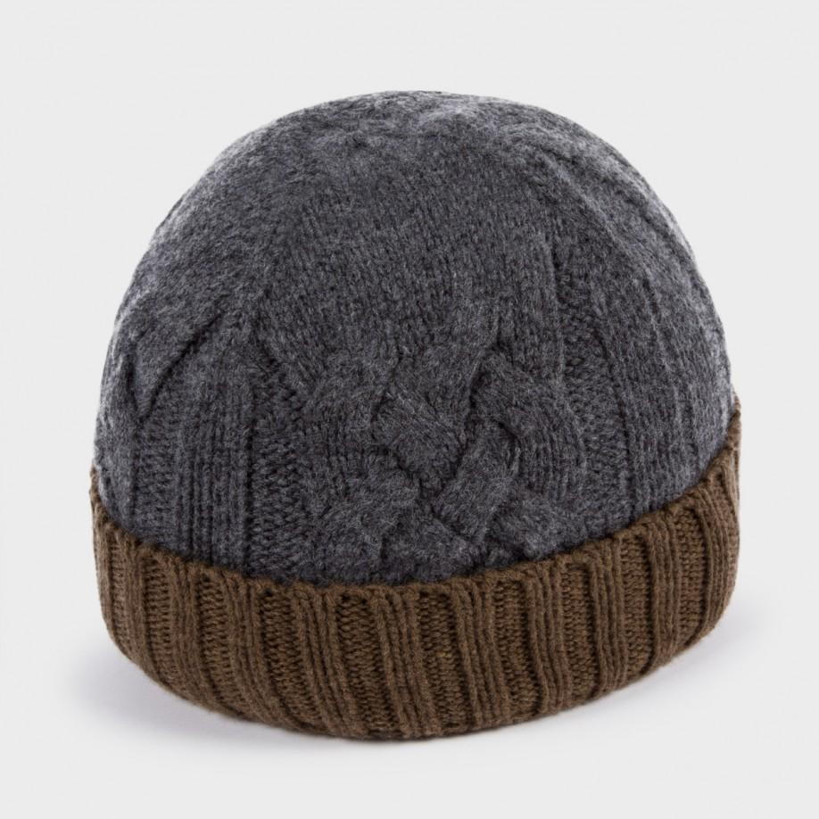Inspirational Lyst Paul Smith Men S Grey and Brown Cable Knit Beanie Cable Knit Hat Of Fresh 40 Pics Cable Knit Hat