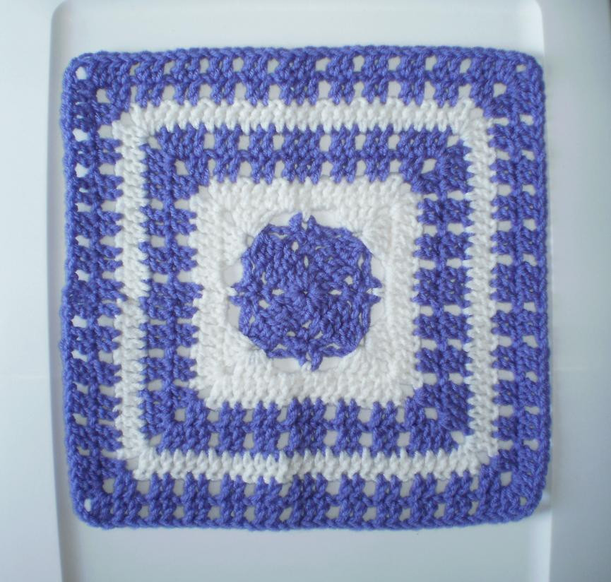 "Inspirational Majesty Square 12"" Crochet Square Pattern ⋆ Crochet Kingdom Crochet Kingdom Of Gorgeous 50 Pictures Crochet Kingdom"