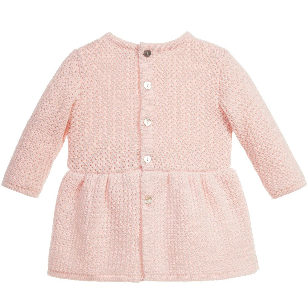 Inspirational Mebi Baby Girls Pink Knitted Dress Baby Girl Knitted Dress Of Incredible 47 Photos Baby Girl Knitted Dress