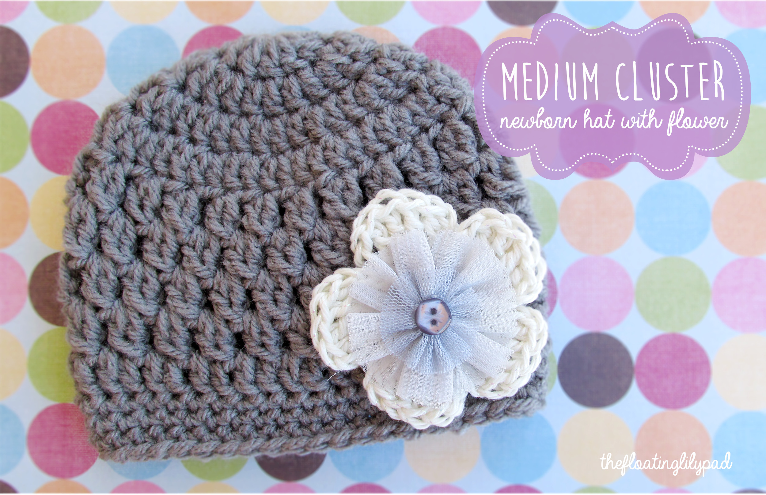 Inspirational Medium Cluster Crochet Baby Hat with Flower Free Pattern Crochet Flowers for Hats Free Patterns Of Luxury 25 Best Ideas About Crochet Hats On Pinterest Crochet Flowers for Hats Free Patterns