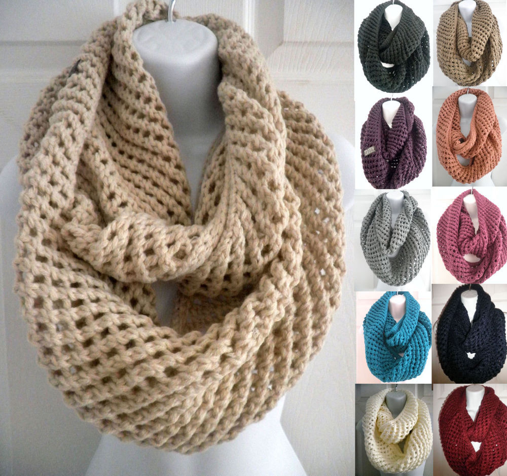 Inspirational Men Women Winter Warm Infinity Circle Cable Knit Cowl Neck Knit Cowl Scarf Of Gorgeous 41 Pictures Knit Cowl Scarf