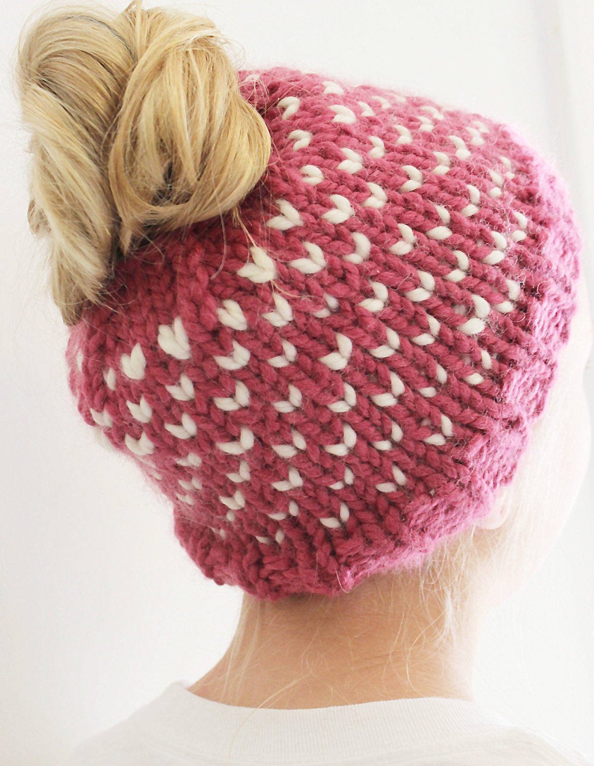 Inspirational Messy Bun and Ponytail Hat Knitting Patterns Bun Hat Knitting Pattern Of Amazing 40 Ideas Bun Hat Knitting Pattern