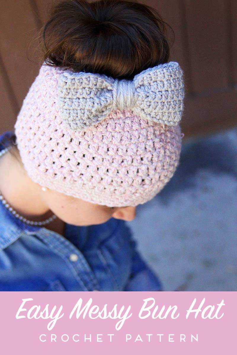 Inspirational Messy Bun Free Crochet Pattern Daisy Cottage Designs Free Crochet Pattern for Messy Bun Hat Of Beautiful 47 Ideas Free Crochet Pattern for Messy Bun Hat