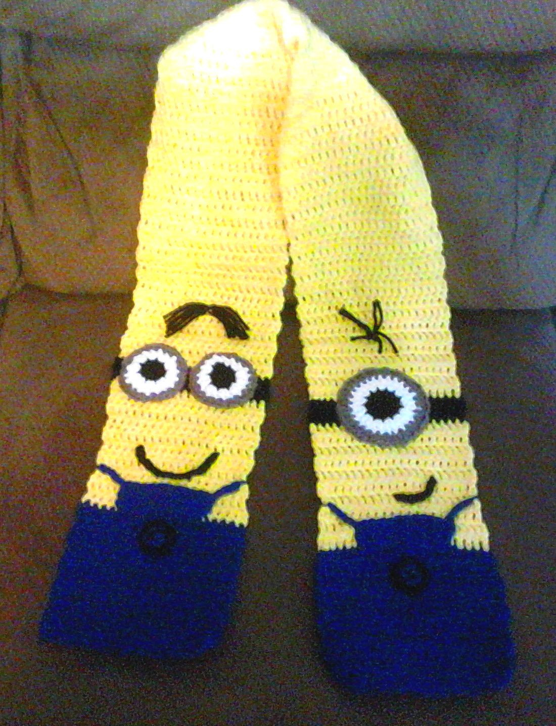 Inspirational Minion Inspired Scarf – A Crochet Pattern for You Minion Pattern Of Gorgeous 50 Models Minion Pattern