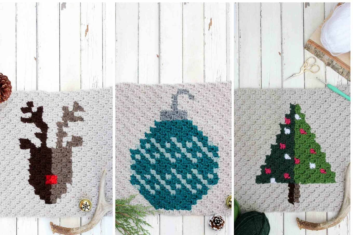 Inspirational Modern Crochet Free Christmas Afghan Pattern Make & Do Crew Modern Crochet Patterns Free Of Gorgeous 47 Models Modern Crochet Patterns Free