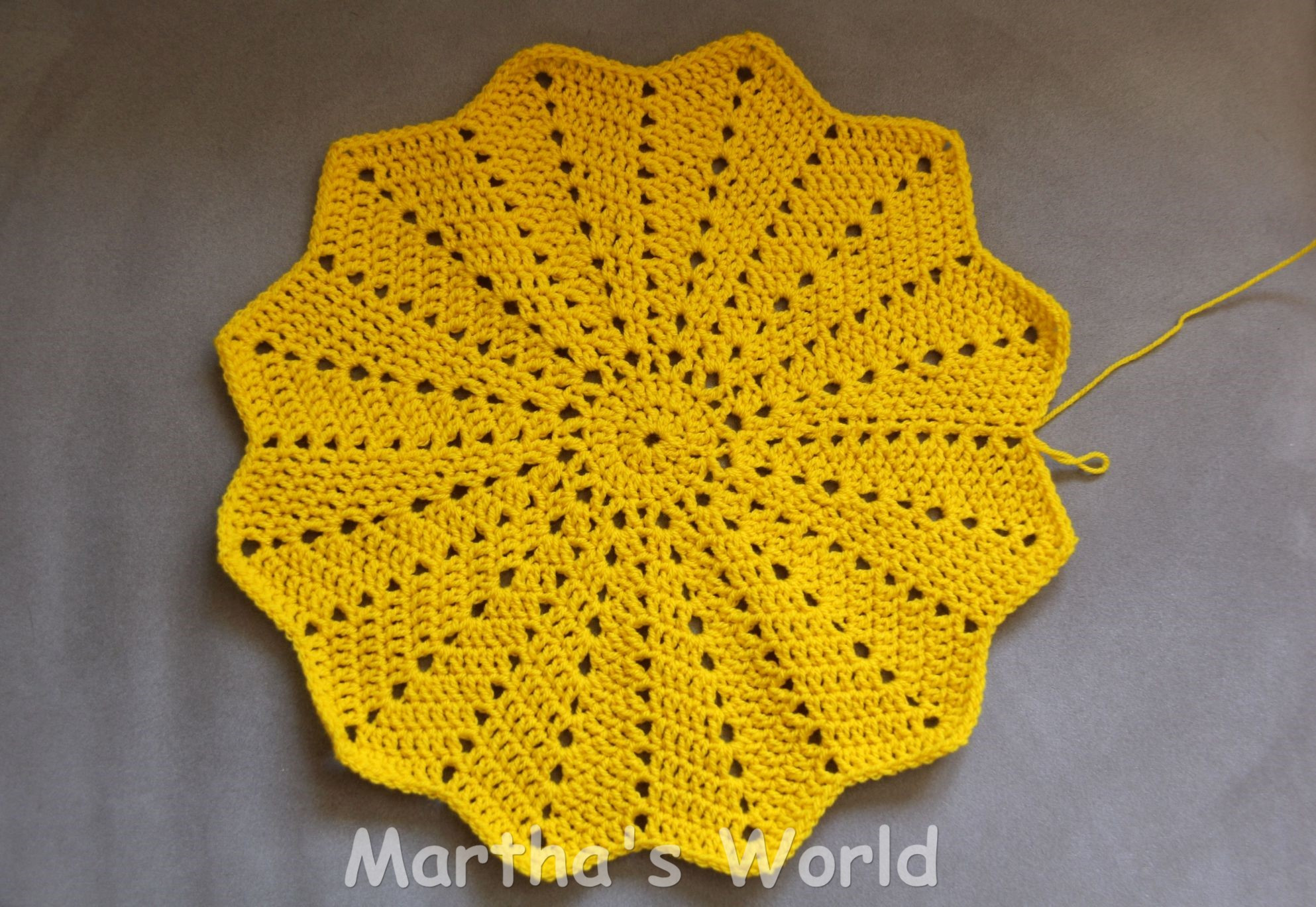 Inspirational My First Round Ripple How I Crocheted Sunshine Round Crochet Pattern Of Unique 50 Models Round Crochet Pattern