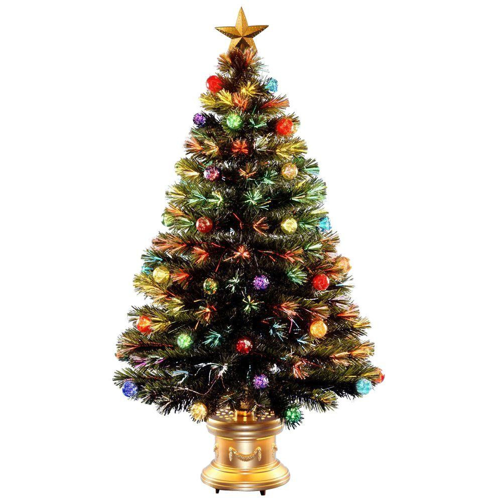 Inspirational National Tree Pany 4 Ft Fiber Optic Fireworks ornaments On Christmas Tree Of Delightful 46 Images ornaments On Christmas Tree
