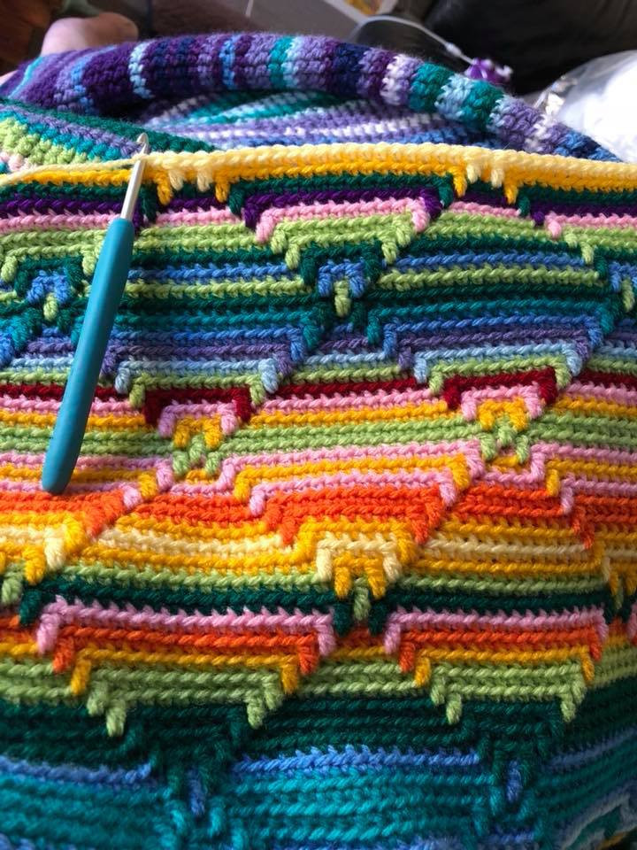 Inspirational Navajo Blanket – Bewitching Stitch Navajo Crochet Pattern Of Perfect 48 Pics Navajo Crochet Pattern