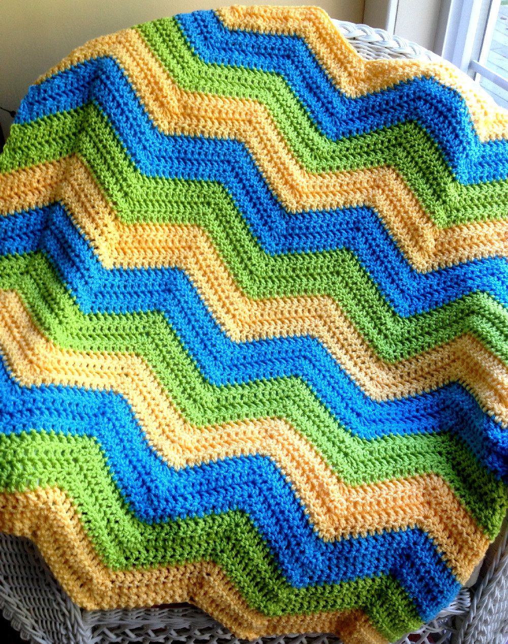 Inspirational New Chevron Zig Zag Ripple Baby Blanket Afghan Wrap Crochet Zig Zag Crochet Afghan Pattern Of New 43 Pics Zig Zag Crochet Afghan Pattern