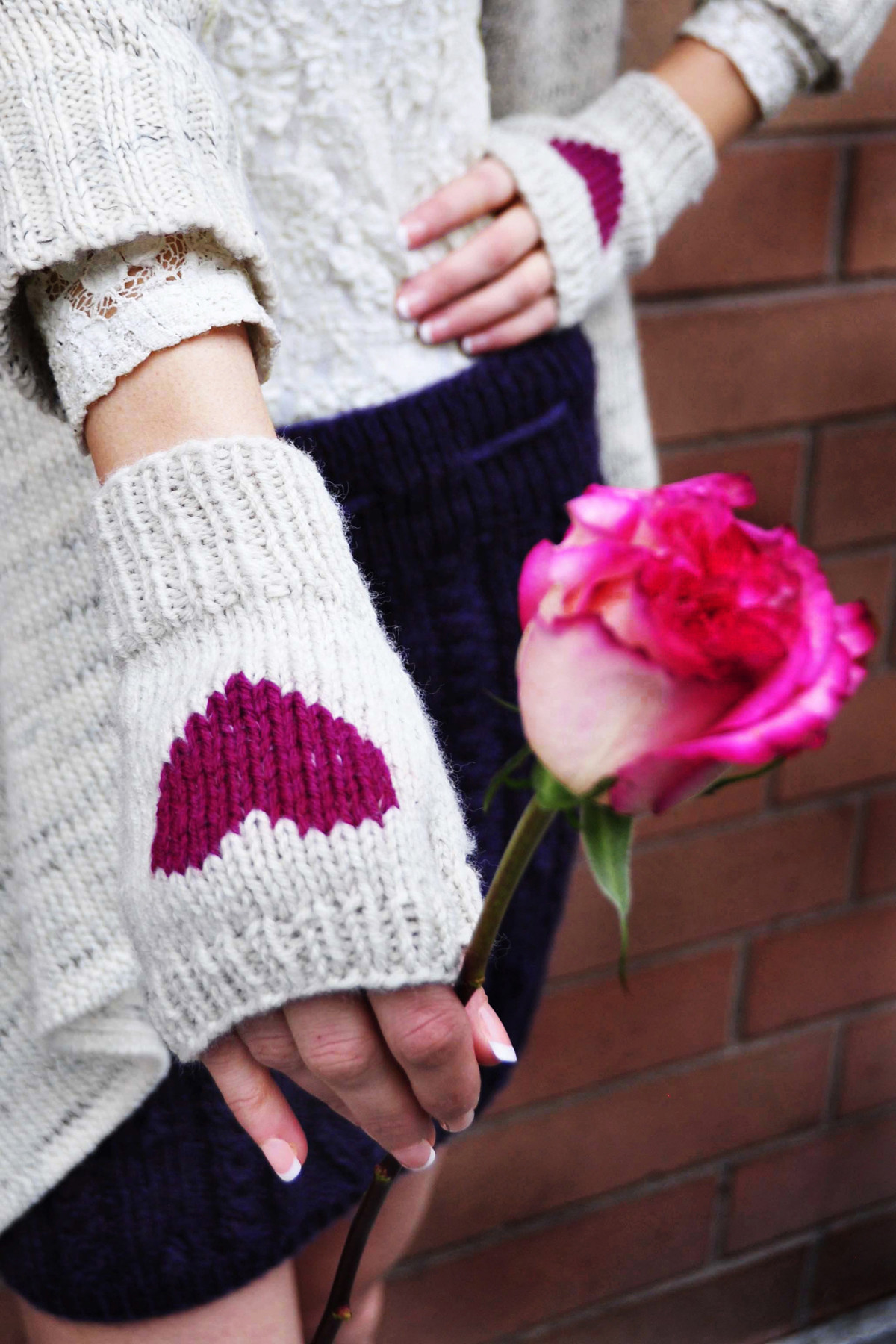 Inspirational New Girly Knits Valentine S Day Knitting Pattern Knitted Fingerless Mittens Of Luxury 48 Images Knitted Fingerless Mittens