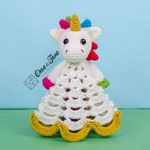 Inspirational Nuru the Unicorn Lovey and Amigurumi Crochet Patterns Pack Crochet Unicorn Blanket Pattern Of Marvelous 48 Photos Crochet Unicorn Blanket Pattern