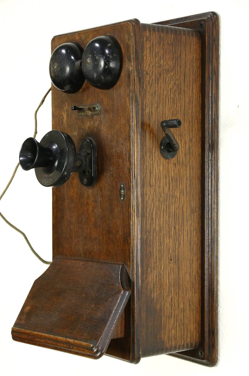 Inspirational Oak Antique Crank Wall Phone Signed Western Electric Antique Crank Phone Of Top 49 Pictures Antique Crank Phone