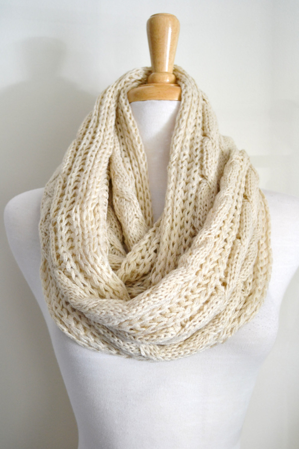 Inspirational Oatmeal Creme Beige Cable Knit Infinity Loop Scarf Snood Cable Knit Scarf Of Delightful 48 Ideas Cable Knit Scarf