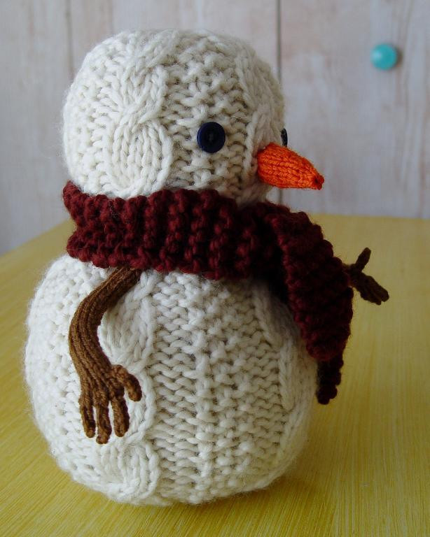 Inspirational Oatmeal the Snowman by Yarnigans Snowman Knitting Pattern Of Attractive 40 Images Snowman Knitting Pattern