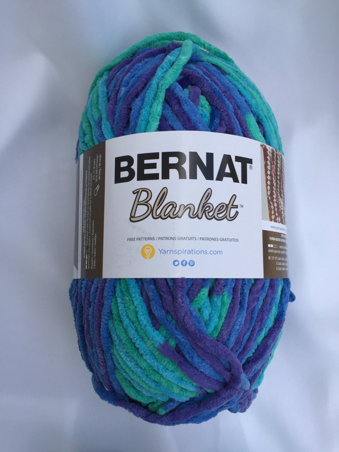 Inspirational Ocean Shades Bernat Blanket Yarn 10 5 Oz Skein Baby Bernat Chunky Blanket Yarn Of Fresh 50 Ideas Bernat Chunky Blanket Yarn
